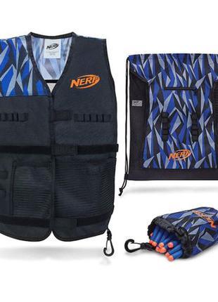 Оригинальный набор Нерф из 4 предметов Nerf Total Tactical Pack