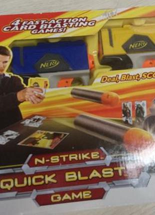 Нерф Рефлекс набор nerf quick blast game + 20 пуль в подарок