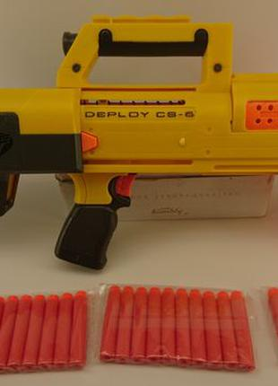 Нерф Деплой б.у в хорошем состоянии Nerf Deploy CS-6 + 30 пуль