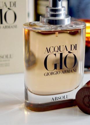 Giorgio Armani Acqua di Gio Absolu_Оригинал EDP_5 мл затест парф.