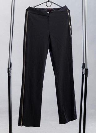 Черные брюки с молниями