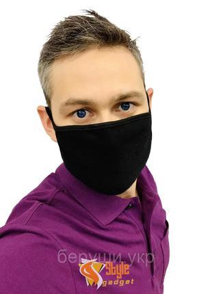Маска для лица защитная многоразовая Silenta M / S, маска захисна