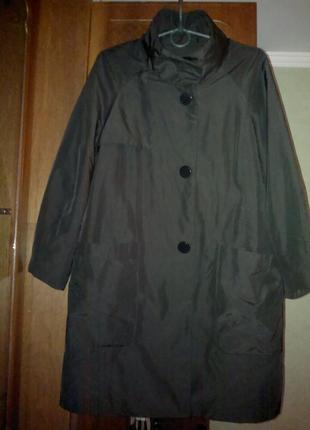 Плащ, пальто куртка mind bridge на теплой подкладке.