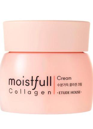 Увлажняющий коллагеновый крем etude house collagen moistfull c...