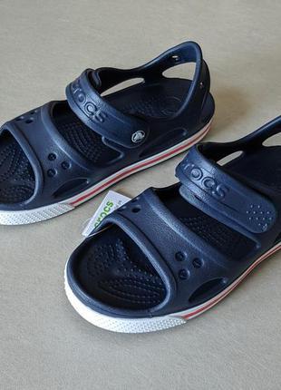 Темно сині сандалі crocs crocband ii sandal - C13, J1