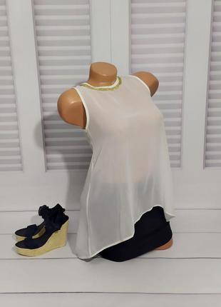 Классическая белая блуза, s/m