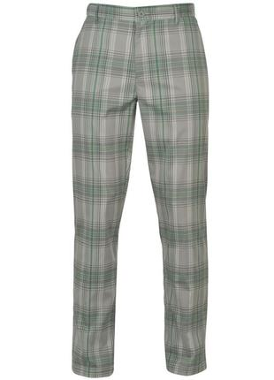 Стильные летние легкие брюки в клетку №310