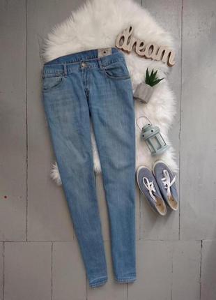 Актуальные зауженные джинсы скинни слимс №138