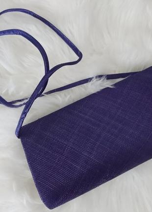 Роскошная вечерняя сумочка клатч на длиной ручкой