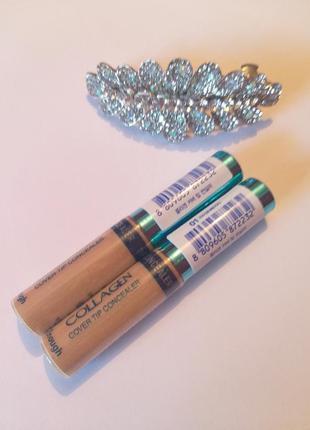 Коллагеновый консилер для лица enough collagen cover tip conce...