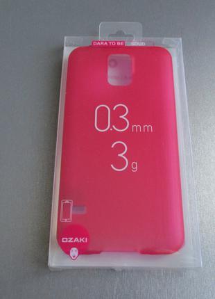 Чехол Ozaki для Samsung Galaxy S5 G900 + защитное стекло