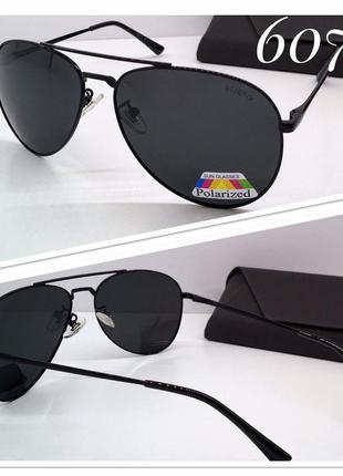 Солнцезащитные очки авиаторы с поляризацией унисекс