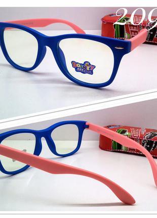 Детские компьютерные очки для мальчиков и девочек