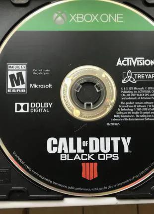 """Игра для консоли XBOX ONE """"CALL of DUTY__Black Ops 4"""""""