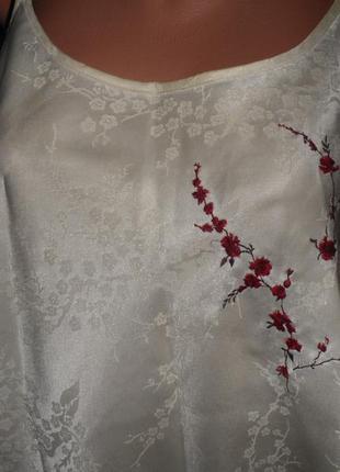 Жіноча нічна атласна сорочка