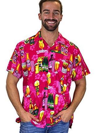 Яркая летняя рубашка №19