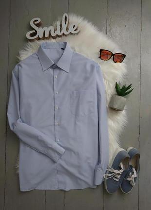Базовая рубашка в мелкую полоску №22