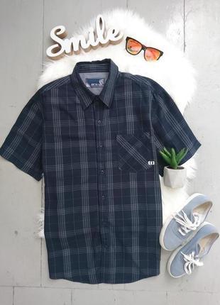 Актуальная летняя рубашка с коротким рукавом №24