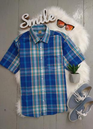 Актуальная летняя рубашка с коротким рукавом #25