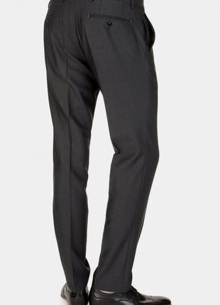 Качественные шерстяные зауженные брюки №219