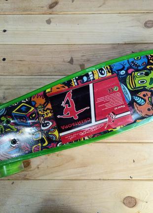 Скейт пенни борд колеса с подсветкой Penny Board