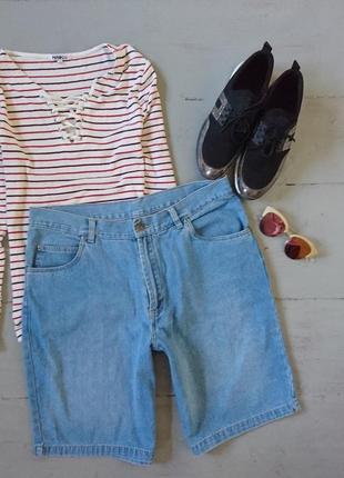 Джинсовые шорты бриджи №306