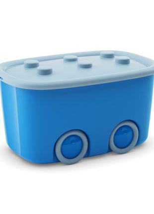 Коробка для игрушек на колесах Curver Funny box 46л