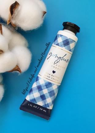 Крем для рук bath and body works - gingham