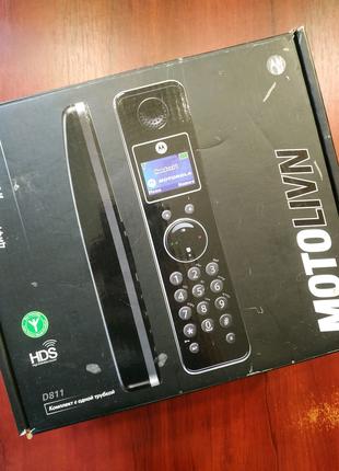 Motorola Motolivn D811 беспроводной цифровой телефон моторол