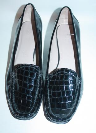 Лоферы, мокасины, туфли кожаные footglove натуральная кожа 100...