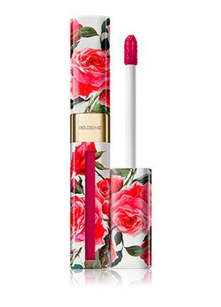 Матовый лак для губ dolce & gabbana dolcissimo lipcolour 9 cherry