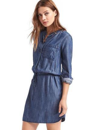 Трендовое платье рубашка на миниатюрную №441