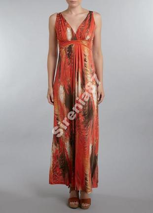 Стильное макси платье в греческом стиле №285