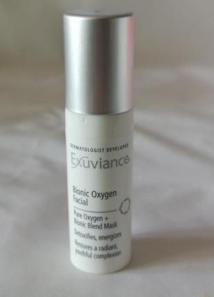 Exuviance bionic oxygen facial  кислородная маска для лица 5 мл
