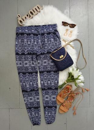 Легкие летние брюки №13