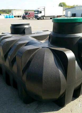 Плоский подземный бак Platin 3000 литров