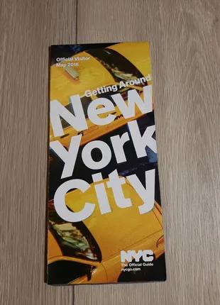 Карта гид Нью Йорк сити