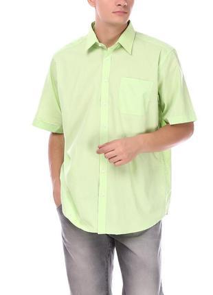 Рубашка c&a canda xl салатовая