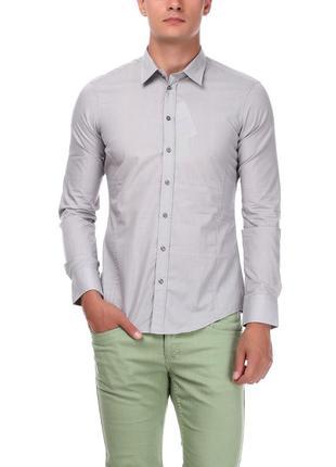 Рубашка мужская piazza italia хxl серая