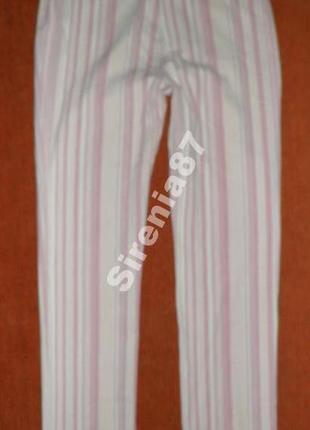 Винтажные джинсы в полоску №132