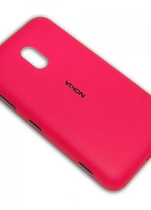 Задняя крышка с разьёмом гарнитуры для Nokia Lumia 620 оригинал