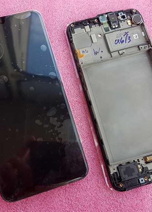 Дисплей AMOLED в рамке Samsung SM-M315 Galaxy M31 сервис