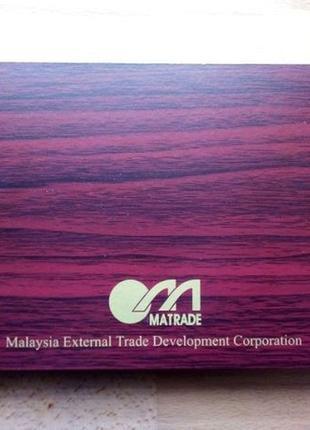 """Подарочный набор """"Блокнот + брелок"""" в коробке из Малайзии"""