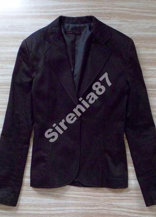 №6 стильный черный пиджак