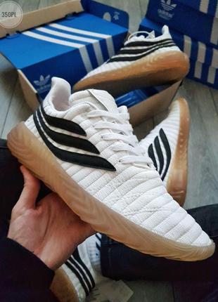 Кроссовки adidas sobakov white/black