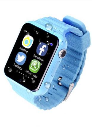 Детские Smart Watch v7k часы - телефон смарт для детей с GPS т...