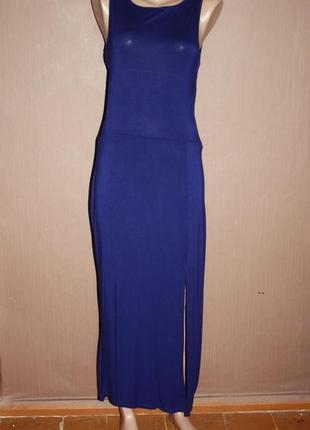 Трендовое платье с вырезами на талии №134