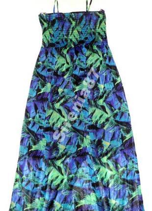 Стильное макси платье №282