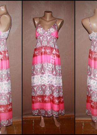 Стильное макси платье №402