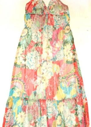 Макси платье №383